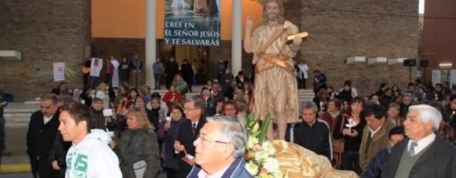 San Juan: La procesión de la familia