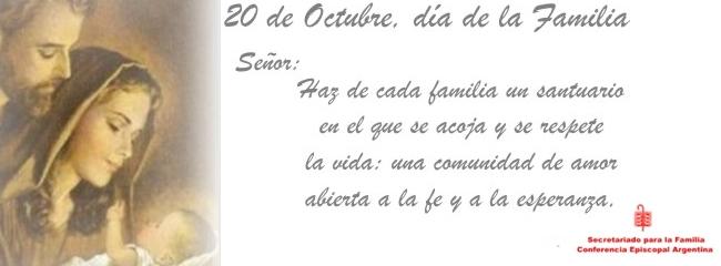 20 de Octubre, Día de la Familia