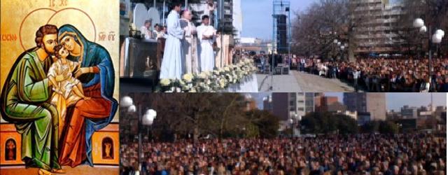 Rosario: Fiesta de la Sgda. Familia