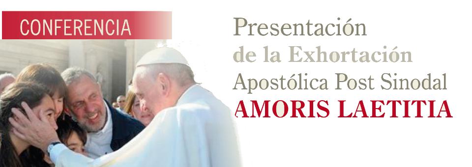 Santa Fe: Presentan Amoris Laetitia