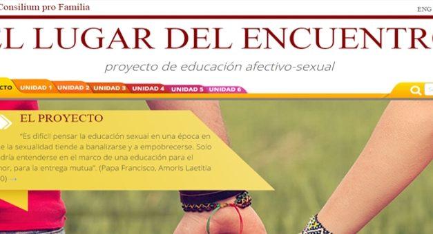Curso de Educación afectivo sexual para jóvenes