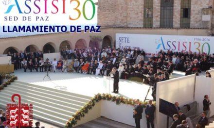 La CEA se unió al Llamamiento de Paz firmado en Asís