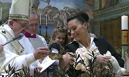 """Francisco: """"Papás, a ustedes les toca la tarea de custodiar la fe"""""""
