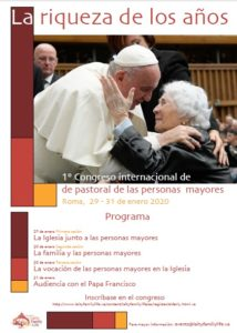 Congreso internacional pastoral de adultos mayores